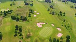 Luftbild Golfplatz Gut Sansenhof