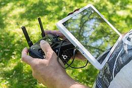 Drohnenpilot + DJI Mavic Pro Controller