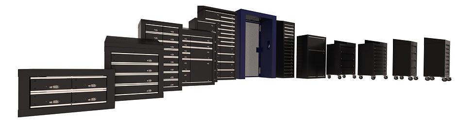 iLockerz intelligent locker systems - various products