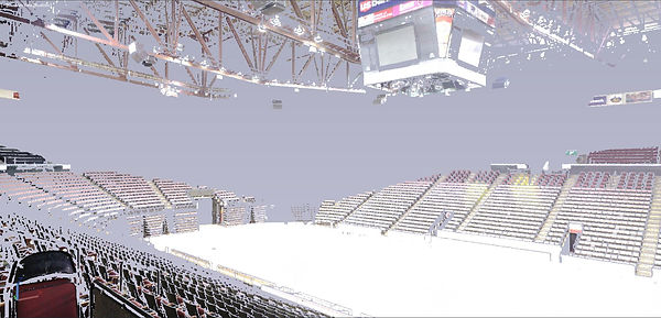US Ban Arena 3D Scanned Point Cloud