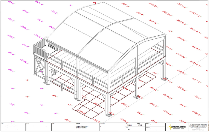 Site Plan 3D AutoCAD Model