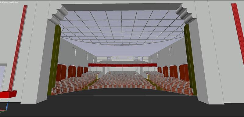 Geffen Playhouse AutoCad Model
