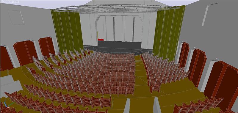 Geffen Playhouse Autcad Model