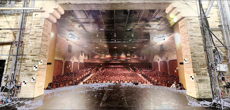 Geffen Playhouse Stage Pointcloud