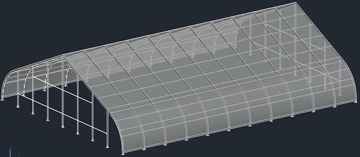 Freespan Tent Model