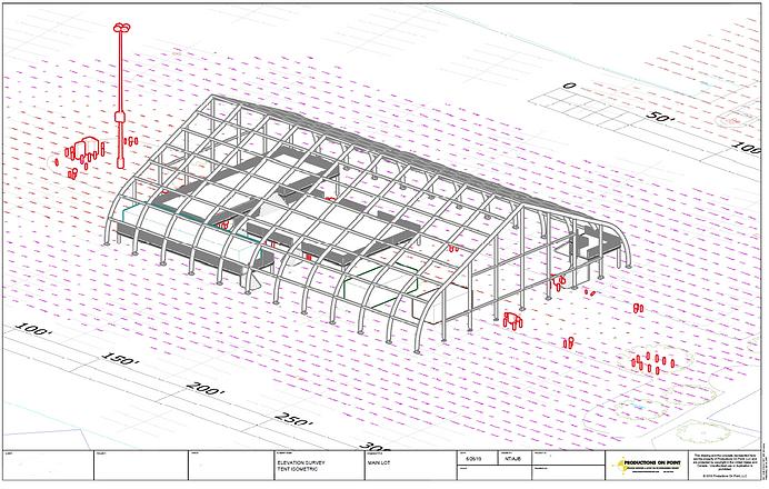 Site Plan 3D AutoCAD Mode