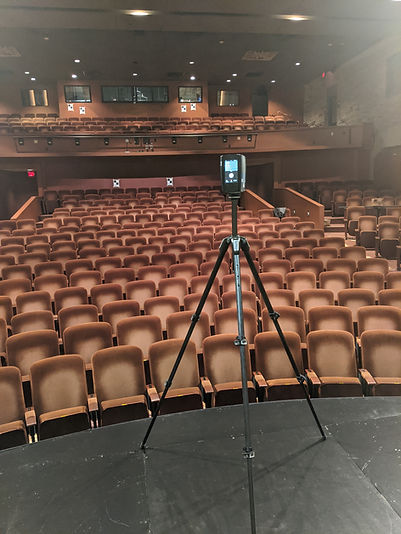 Faro S70 Scanner in Theater