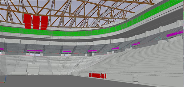 US Bank Arena 3D Model