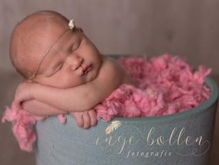 Newborn fotosessie Nane