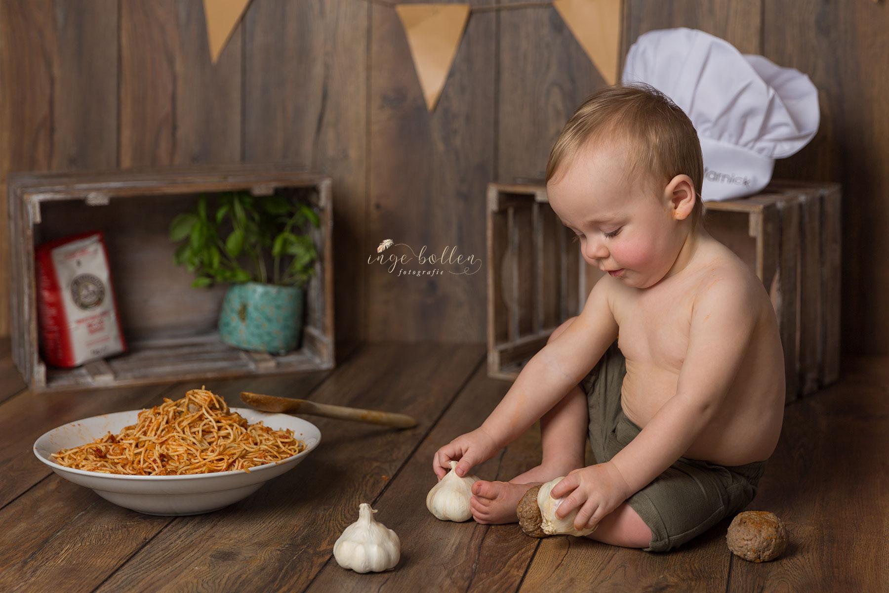 Spaghettismash Inge bollen fotograf