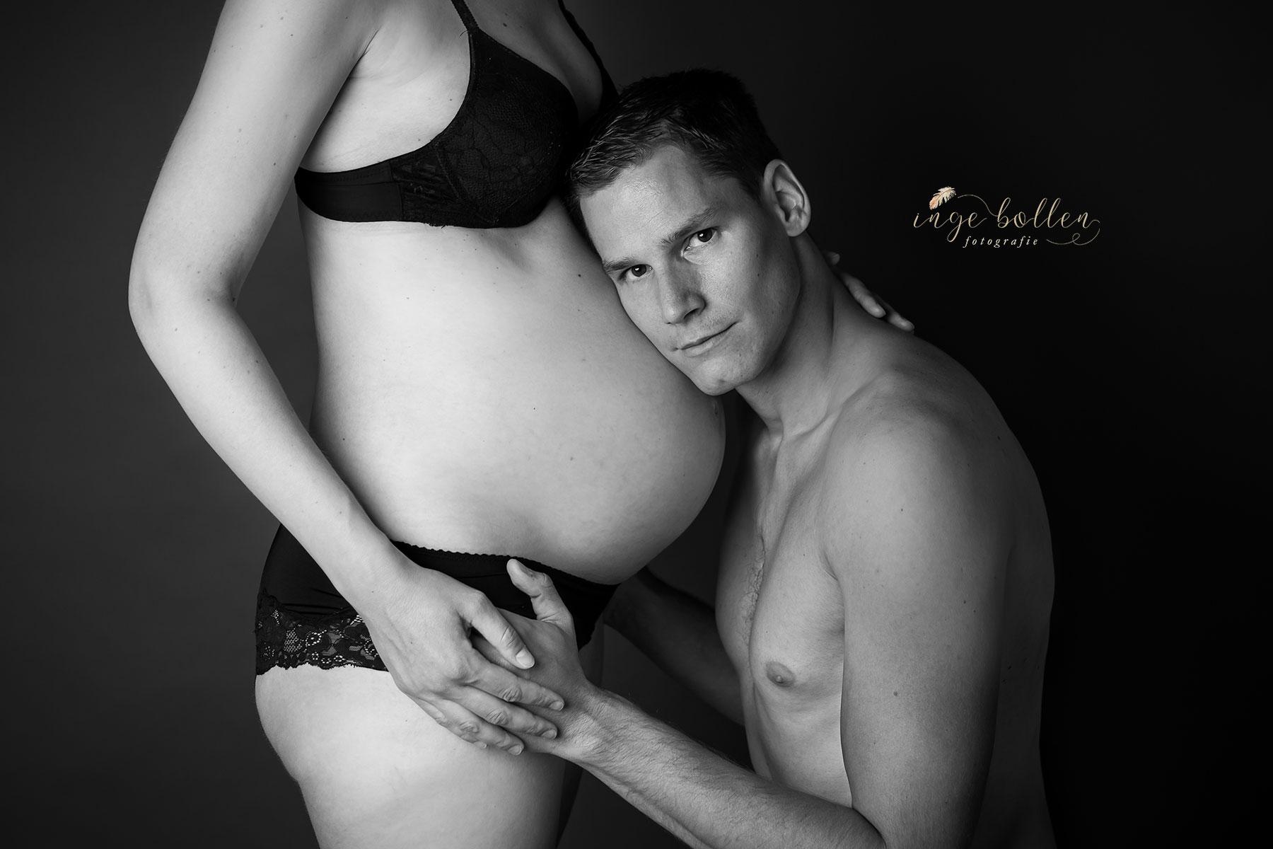 Zwangerschapsfotografie Inge Bollen