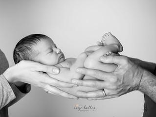 In veilige handen: newbornsessie