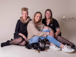 Familiefotoshoot bij Inge Bollen Fotografie