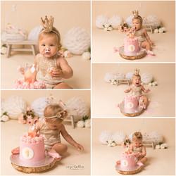 Verjaardagssessie Cakesmash