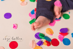 Verjaardagssessie - Confetti