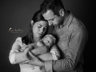Newborn: familiefoto's