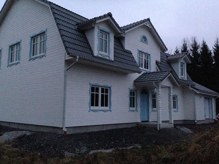 Nybyggnation av huset