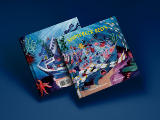 Shipwreck reef book