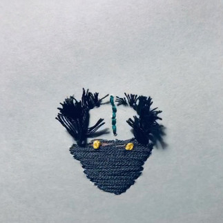 Embroidery stop motion