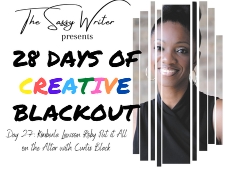 Day 27: Kimberla Lawson Roby Put it All on the Altar with Curtis Black
