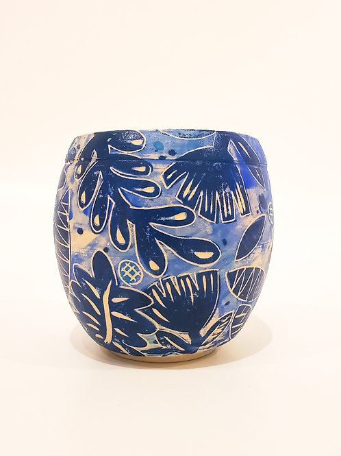 Blue Garden Cup