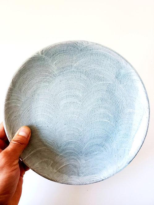 Sliped plate