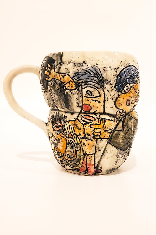 Figurative Painting Mug