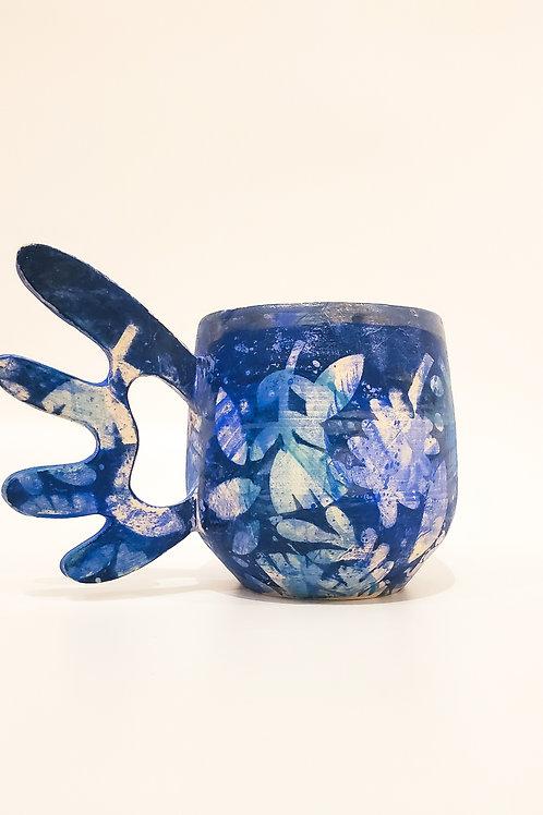 Blue Fly Away Mug