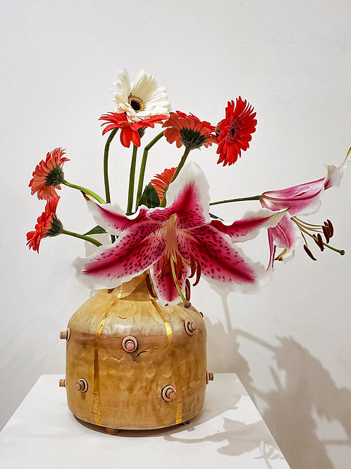 Bling Spiked Vase