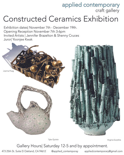 Constructed Ceramic Exhibition