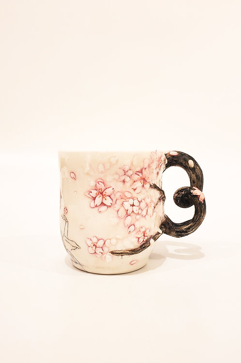 Cherry Blossom Teacup