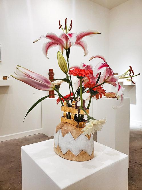 Bling Cage Vase