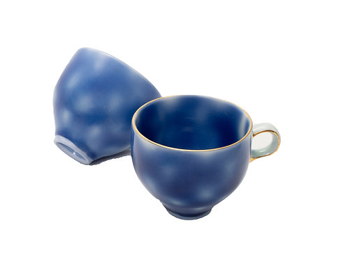 Blue and White Cup