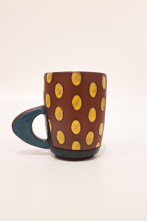 Oval Dot Mug