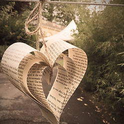 An alternative to wedding bunting at the