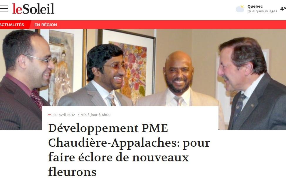 JOURNAL LE SOLEIL 2010