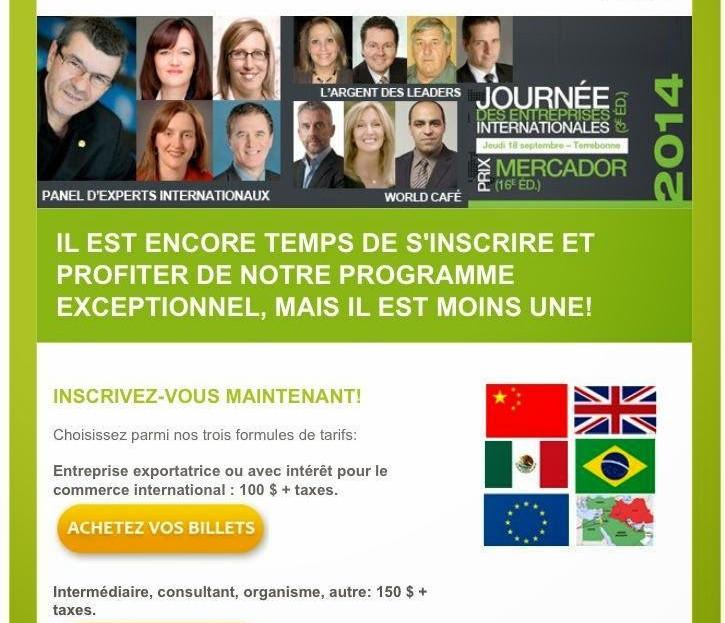 Société De Développement International Lanaudière - 2012