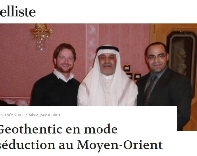 Journal Nouvelliste- 2010