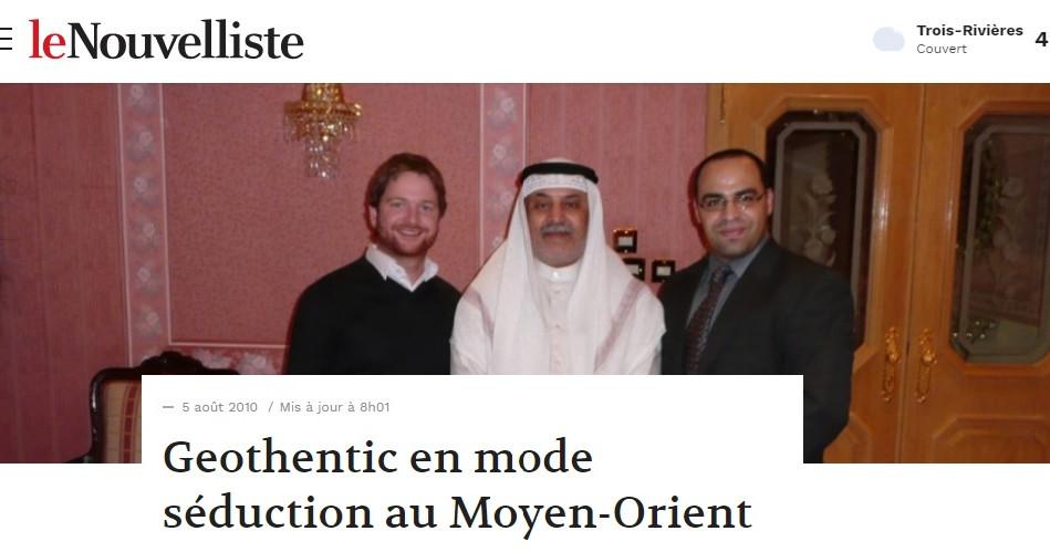 Journal Nouvelliste - 2010
