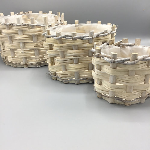 Round Basket set