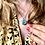 Thumbnail: Hexagon letter necklace