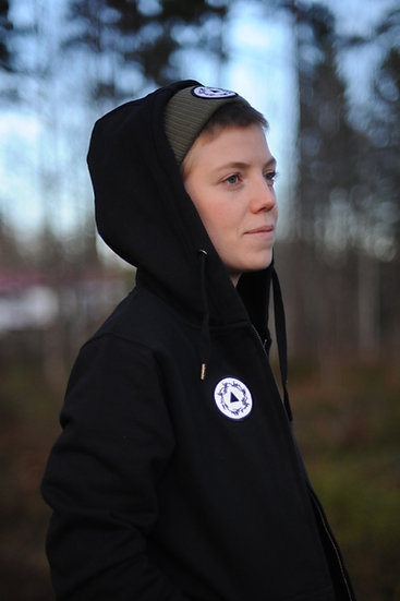 AWESOMe. Zip-Up Hoodie. Fair Trade and Organic