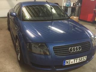 Audi TT - von unscheinbar zu auffällig