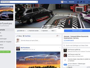 SkinTune4cars Facebook Aktion