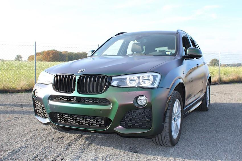 BMW X3 Avery Color Flow
