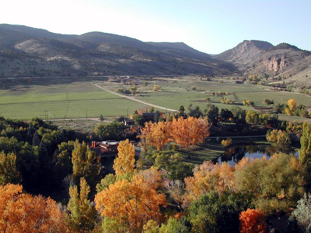 Fall at Sylvan Dale Guest Ranch.
