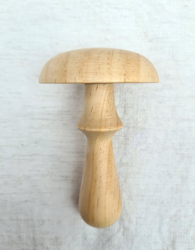 Wooden Darning Mushroom