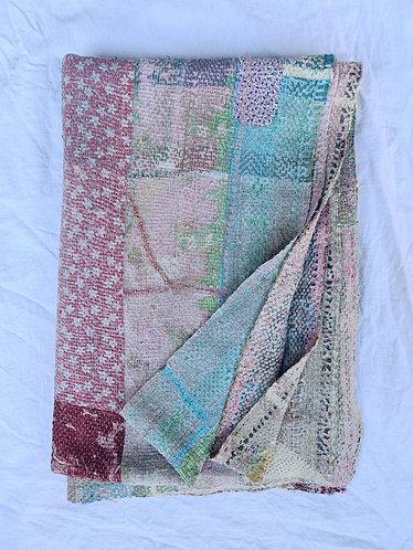 Vintage Kantha Throw 01/4