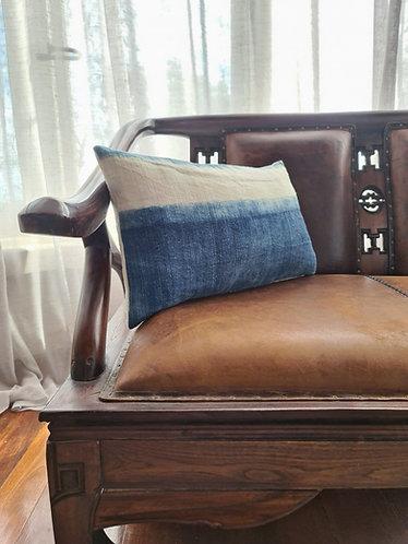 Vintage Hmong Hemp Cushion Cover 004