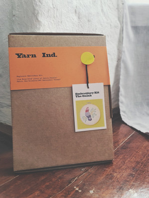 Yarn Industry Embroidery Kit